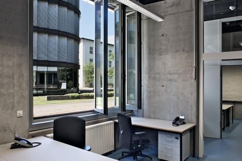 Heide Beckerath bauwelt biobank des max delbrück centrums in berlin