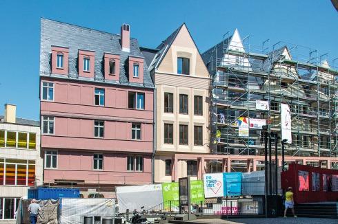 Bauwelt Dom Romer Areal In Frankfurt Am Main