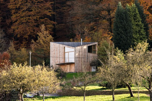 Bauwelt Wochenendhaus Im Odenwald
