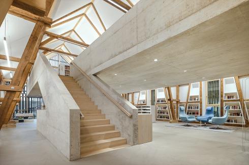 BAUWELT - Bibliothek in Kressbronn