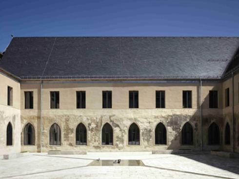 bauwelt kloster dalheim. Black Bedroom Furniture Sets. Home Design Ideas