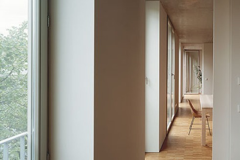 bauwelt wohnhaus baugruppe a52 in berlin mitte. Black Bedroom Furniture Sets. Home Design Ideas