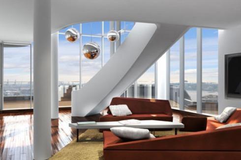 BAUWELT - Marco Polo Tower: Fünf Einrichtungsvorschläge