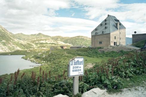 St Gotthard Hospiz bauwelt st gotthard hospiz
