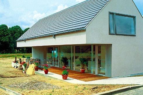 bauwelt einfamilienhaus in wandlitz. Black Bedroom Furniture Sets. Home Design Ideas