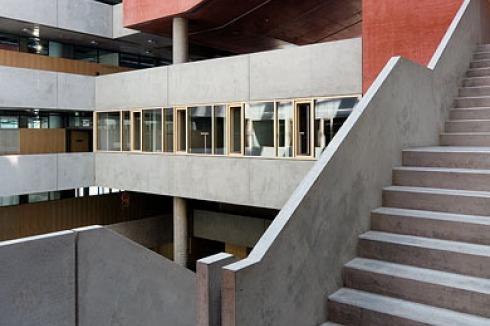 BAUWELT - Campusbebauung I FH Frankfurt