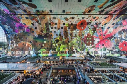 Bauwelt Markthal Rotterdam