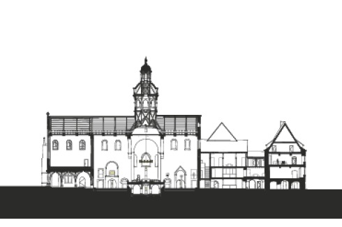 Schilling Architekten bauwelt der dom zu hildesheim neu gestimmt