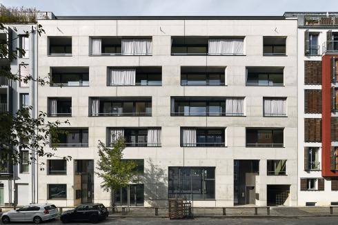Vorhänge Berlin bauwelt großstadthaus in berlin