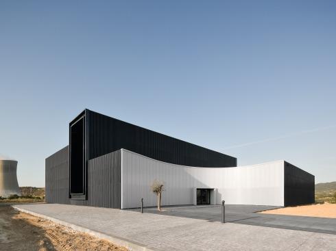 bauwelt kernkraftmuseum in asco. Black Bedroom Furniture Sets. Home Design Ideas