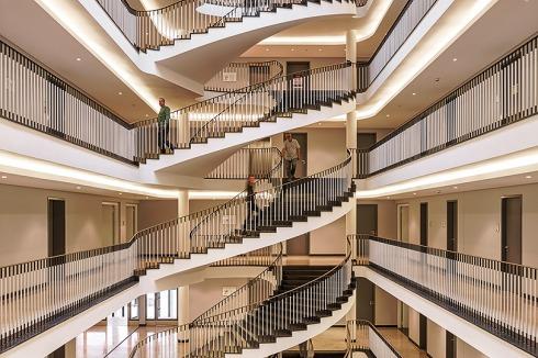 Bielefeld Architekten bauwelt technisches rathaus in bielefeld