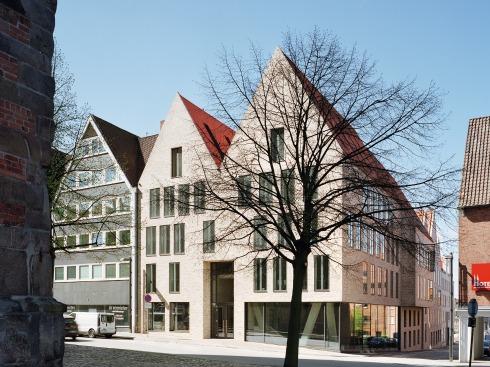 Bauwelt ulrich gabler haus in l beck - Architekten lubeck ...