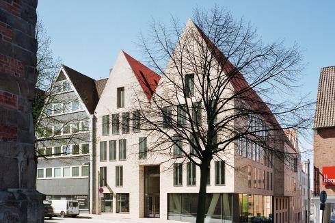 Architektur Lübeck bauwelt ulrich gabler haus in lübeck