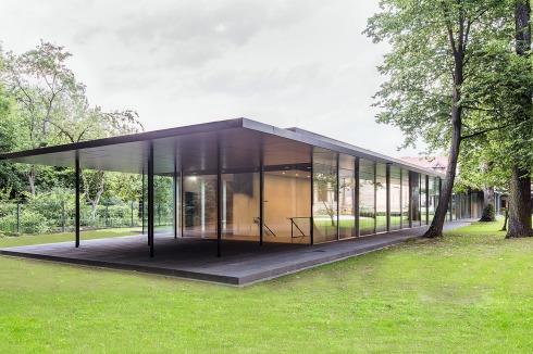 Architekten Bayreuth bauwelt rahmenlos zum schieben